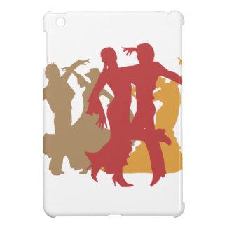 Colorful Flamenco Dancers iPad Mini Cover