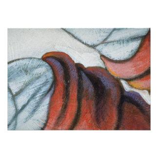 Colorful Flannel Shirt Custom Invitations