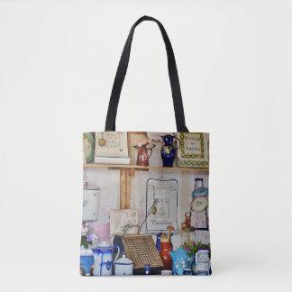 Colorful Flea Market Tote Bag
