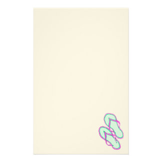 Colorful Flip Flops 1 Stationery