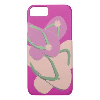Colorful Flip Flops Vector Art iPhone 8/7 Case