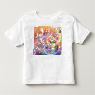 Colorful Floating Orbs Toddler T-shirt