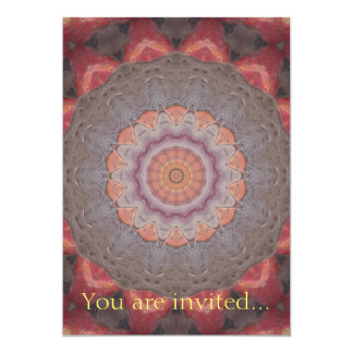 Colorful Floor Tiles Kaleidoscope 12 Card