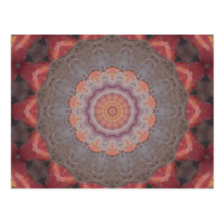 Colorful Floor Tiles Kaleidoscope 12 Postcard