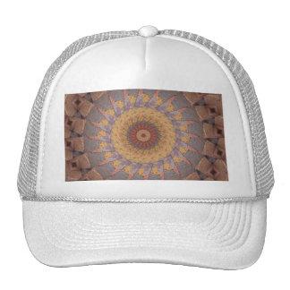 Colorful Floor Tiles Kaleidoscope 14 Trucker Hat