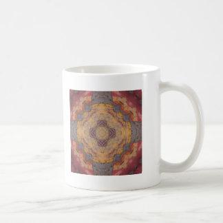 Colorful Floor Tiles Kaleidoscope 2 Classic White Coffee Mug