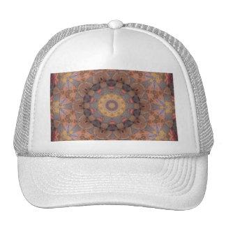 Colorful Floor Tiles Kaleidoscope 4 Trucker Hat