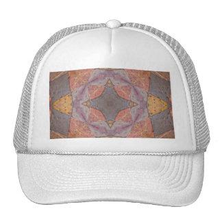 Colorful Floor Tiles Kaleidoscope 6 Trucker Hat