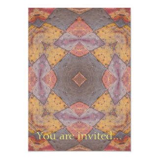 Colorful Floor Tiles Kaleidoscope 8 Card