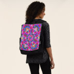 Colorful floral Abstract pattern Backpack