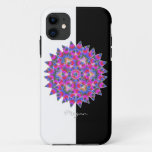 Colorful floral Abstract pattern - iPhone 11 Case