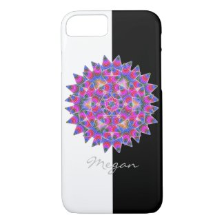 Colorful floral Abstract pattern iPhone 8/7 Case