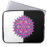 Colorful floral Abstract pattern Laptop Sleeve
