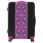 Colorful floral Abstract pattern Luggage