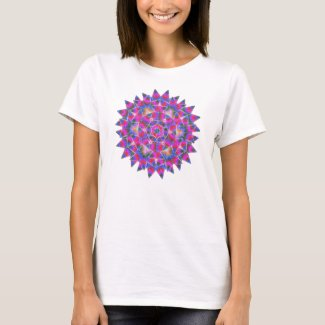 Colorful floral Abstract pattern T-Shirt