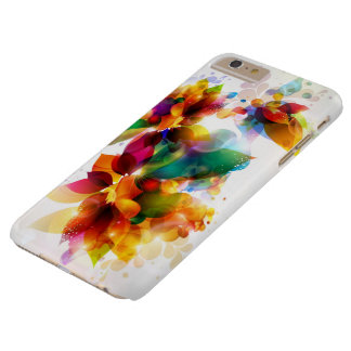 Colorful Floral Barely There iPhone 6 Plus Case
