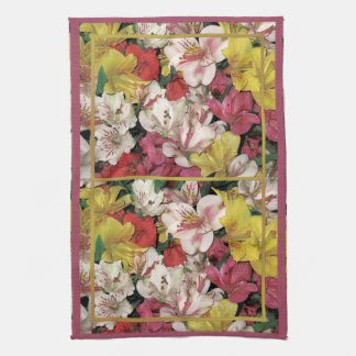 Colorful Floral Bouquet American MoJo Kitchen Towe Kitchen Towels