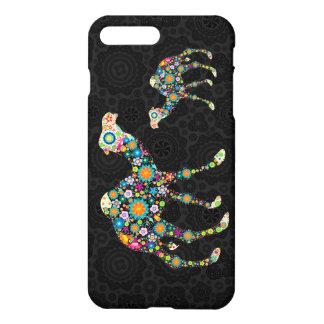 Colorful Floral Camel Illustration iPhone 7 Plus Case