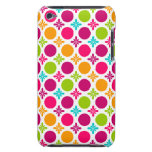 Colorful Floral Circle Pattern Design iPod Touch Covers