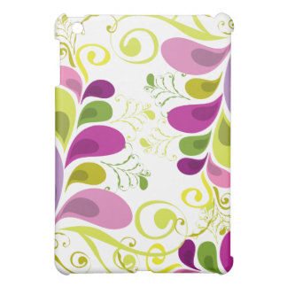 Colorful Floral Deco Leaves Nature Art Deco Chic Case For The iPad Mini