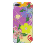 Colorful Floral iPhone Case 4 Cover For iPhone 5