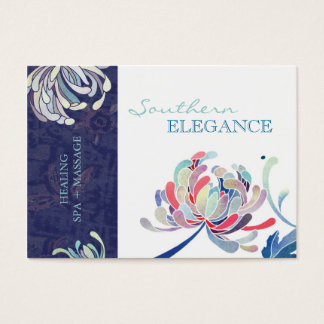 Colorful Floral Massage + Spa Appointment Cards