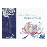 Colorful Floral Massage + Spa Appointment Cards Business Card Templates