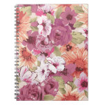 Colorful Floral Notebook