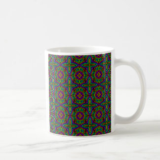 Colorful Floral Pattern Alternate Small Mugs