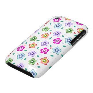 Colorful Floral pattern Case-Mate iPhone 3 Case