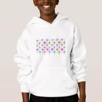 Colorful Floral pattern Hoodie