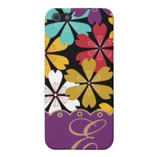 Colorful Floral Pattern iPhone4 Case