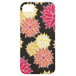 Colorful Floral Pattern iPhone 5 Cover