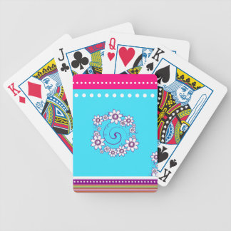 Colorful Floral Playing Cards