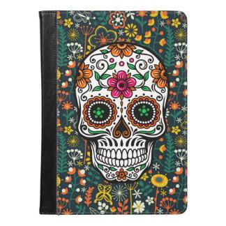 Colorful Floral Sugar Skull iPad Air Case
