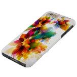 Colorful Floral Tough iPhone 6 Plus Case