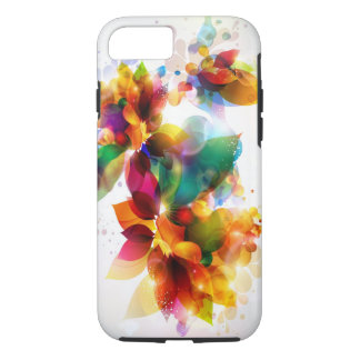 Colorful Floral Tough iPhone 7 Case