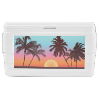 Colorful Florida Sunset Cooler