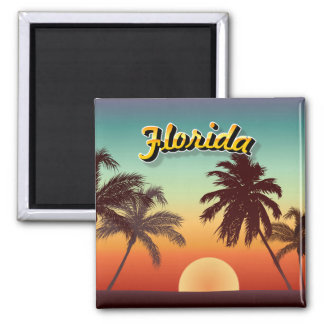 Colorful Florida Sunset Magnet