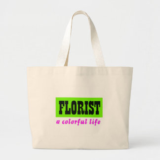 Colorful Florist Tote Bags