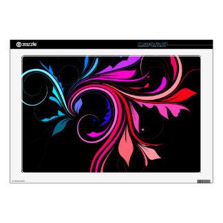 "Colorful Flourish 17"" Laptop Skins"