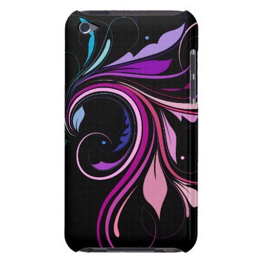 Colorful Flourish Case-Mate iPod Touch Case