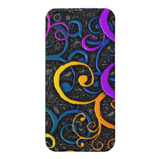 Colorful Flourish Pattern - iPhone 5 Case