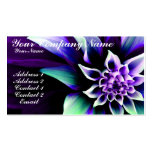Colorful Flower 3 Business Card Template