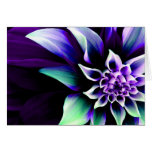 Colorful Flower 3 Greeting Card