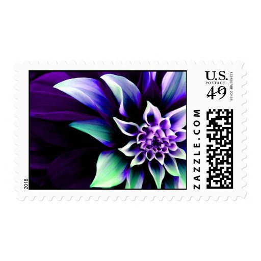 Colorful Flower 3 Postage