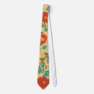 Colorful Flower Design 2 Neck Tie