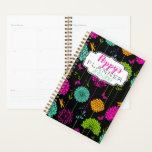 "Colorful Flower Garden Spiral Planner<br><div class=""desc"">Colorful Flower Garden Spiral Weekly/Monthly Planner