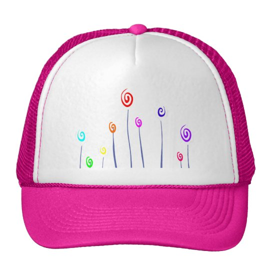 Colorful flower - Hat