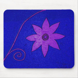 colorful flower mouse pad